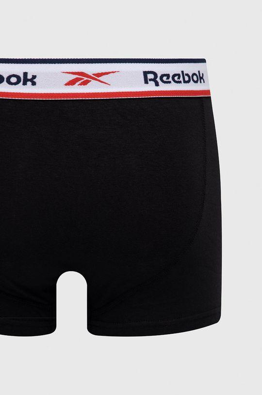 Reebok - Boxerky (3-pack)  57% Bavlna, 5% Elastan, 38% Polyester