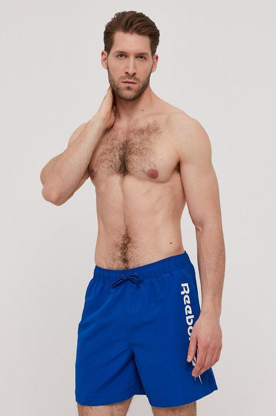 modrá Reebok - Plavkové šortky Pánský