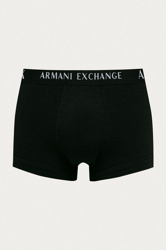 Armani Exchange - Bokserki (3-pack) szary