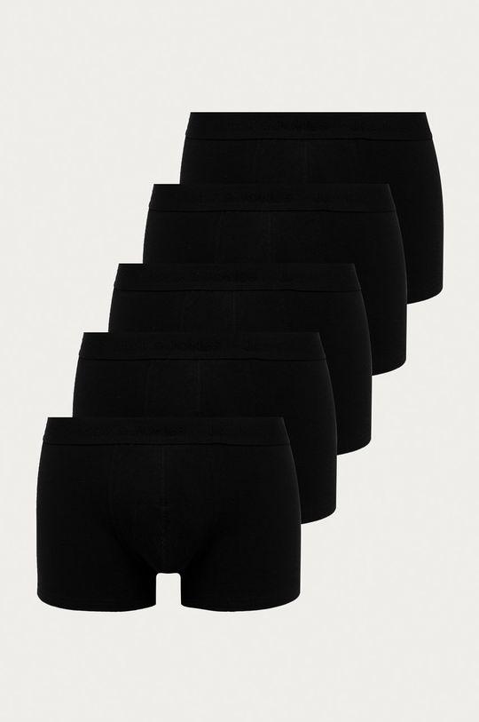 černá Jack & Jones - Boxerky (5-pack) Pánský