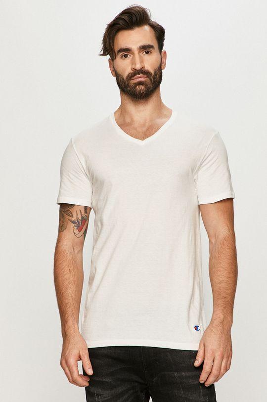 biały Champion - T-shirt (2-pack) Męski
