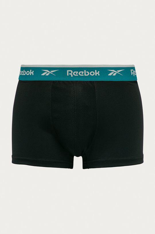Reebok - Bokserki (3-pack) 8 % Elastan, 92 % Poliester