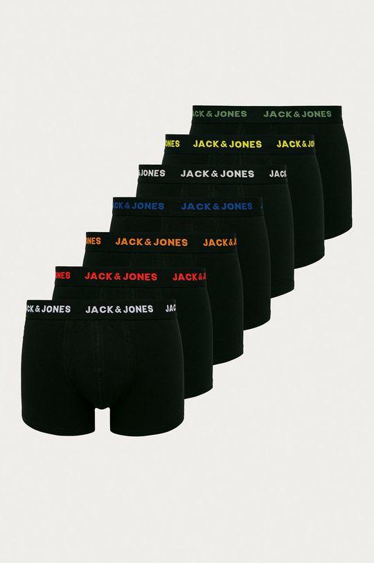 čierna Jack & Jones - Boxerky (7-pak) Pánsky