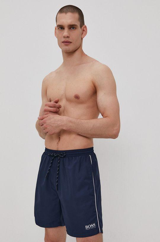 námořnická modř Boss - Plavkové šortky Pánský