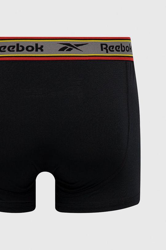 Reebok - Bokserki (3-pack) Materiał 1: 8 % Elastan, 92 % Poliester, Materiał 2: 100 % Poliester