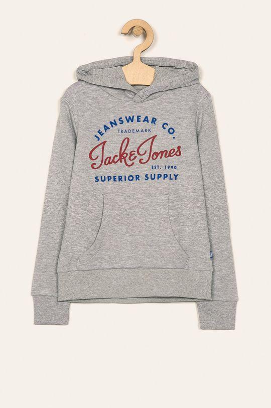 svetlosivá Jack & Jones - Detská mikina 128-176 cm Chlapčenský