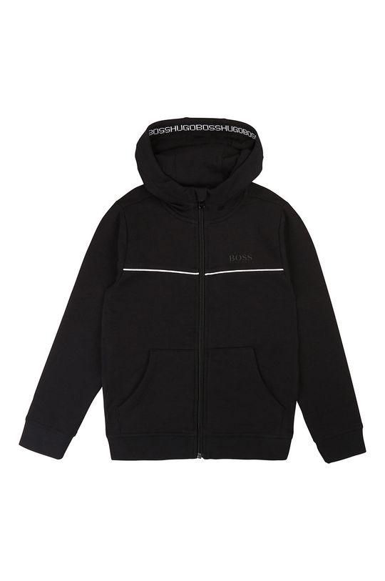 negru Boss - Bluza copii 104-110 cm De băieți