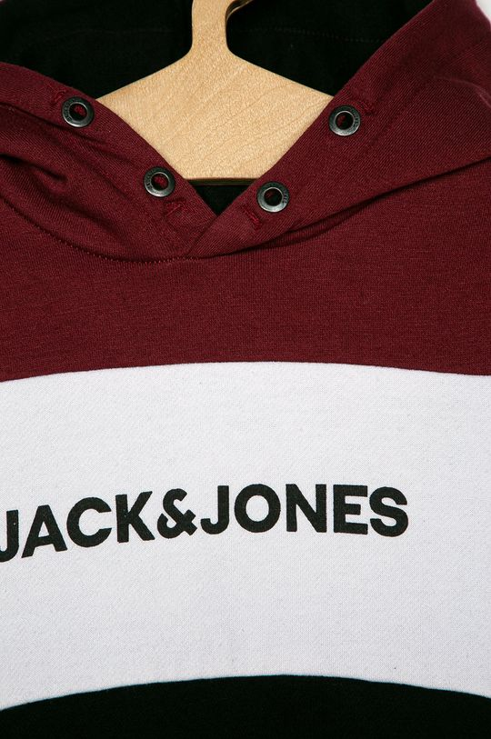 Jack & Jones - Bluza dziecięca mahoniowy