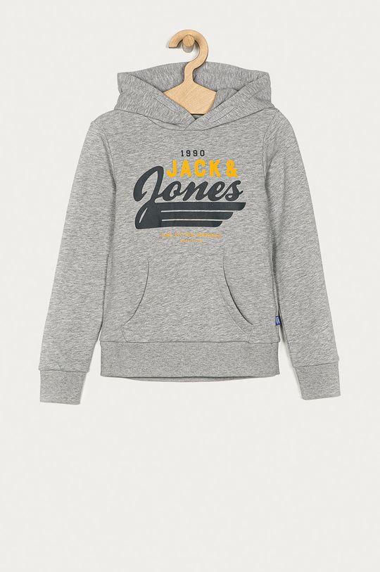 jasny szary Jack & Jones - Bluza dziecięca 152-176 cm Chłopięcy