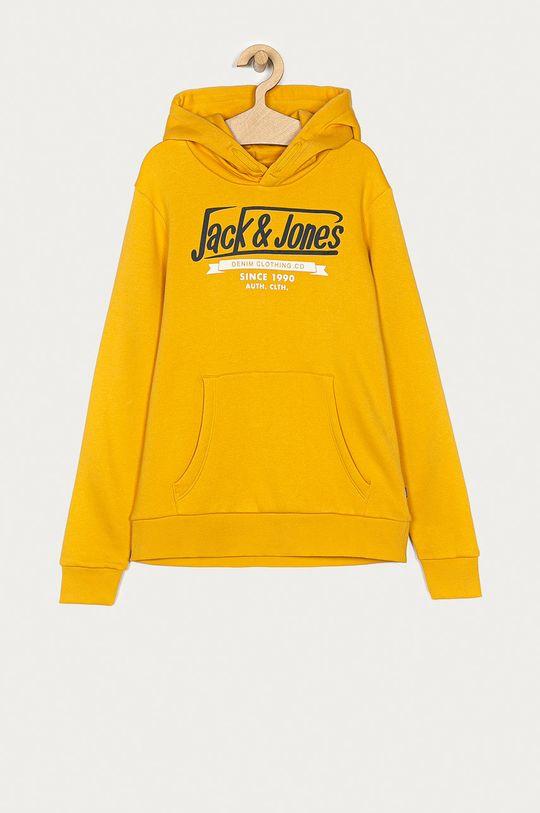 ciepły oliwkowy Jack & Jones - Bluza dziecięca 152-176 cm Chłopięcy
