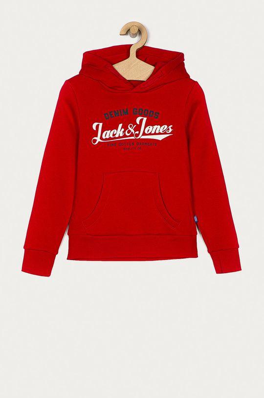 czerwony Jack & Jones - Bluza dziecięca 152-176 cm Chłopięcy