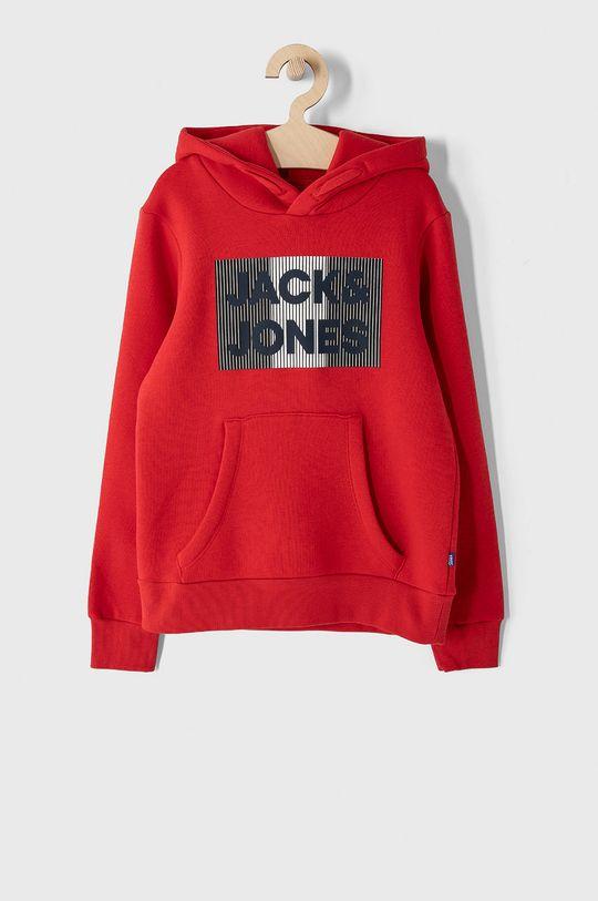 červená Jack & Jones - Dětská mikina 128-176 cm Chlapecký