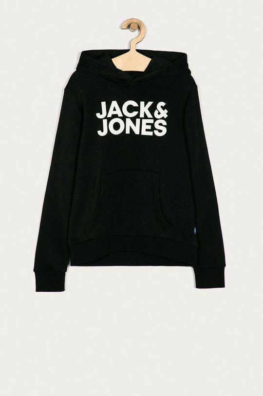 czarny Jack & Jones - Bluza dziecięca 128-176 cm Chłopięcy