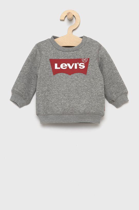 szary Levi's - Bluza dziecięca Chłopięcy