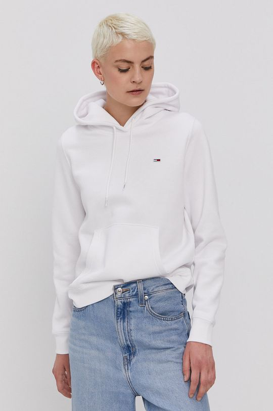 biela Tommy Jeans - Mikina Dámsky