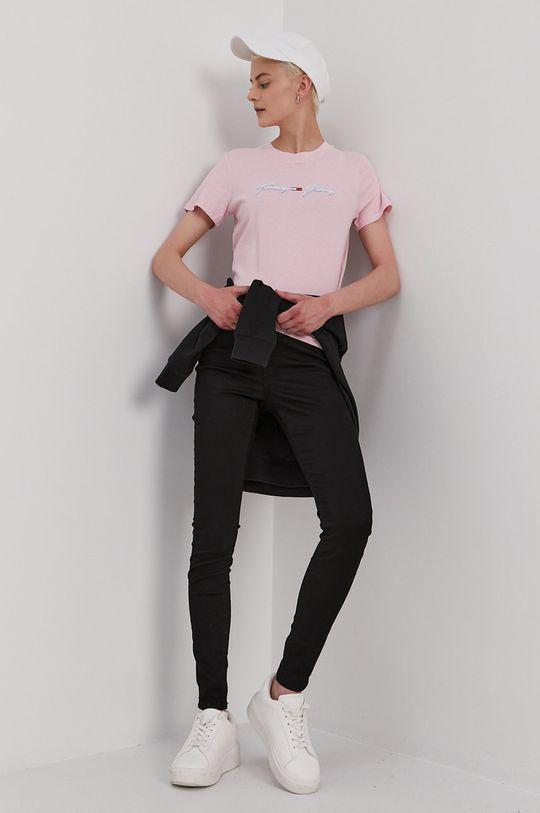 Tommy Jeans - Mikina černá