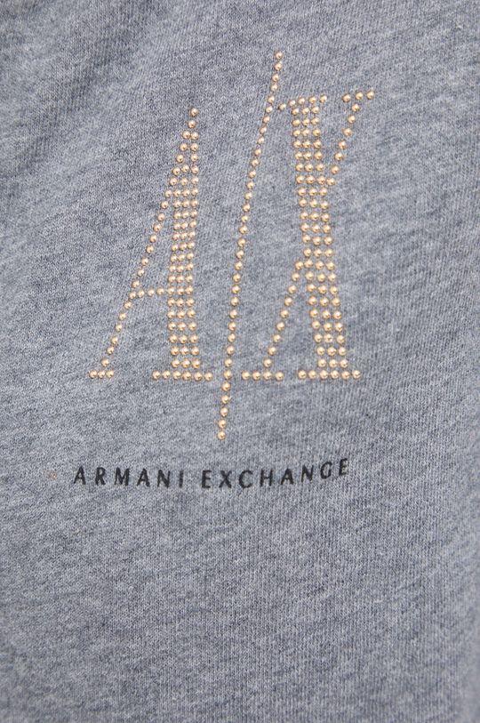 szary Armani Exchange - Bluza bawełniana