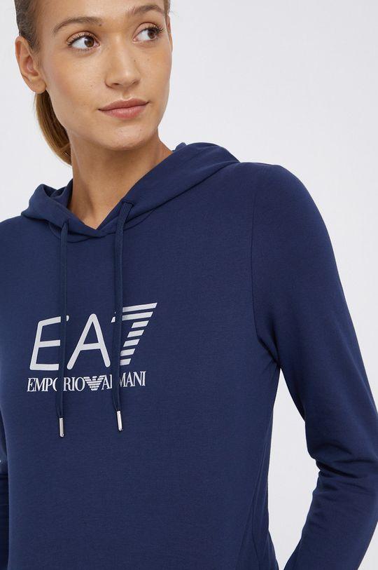 granatowy EA7 Emporio Armani - Bluza