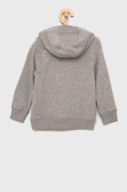 Tommy Hilfiger - Bluza bawełniana dziecięca jasny szary