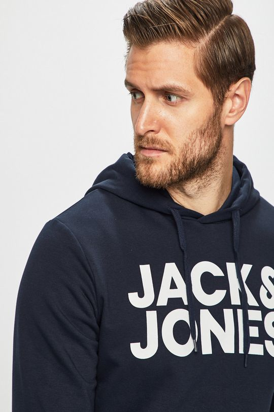 granatowy Jack & Jones - Bluza
