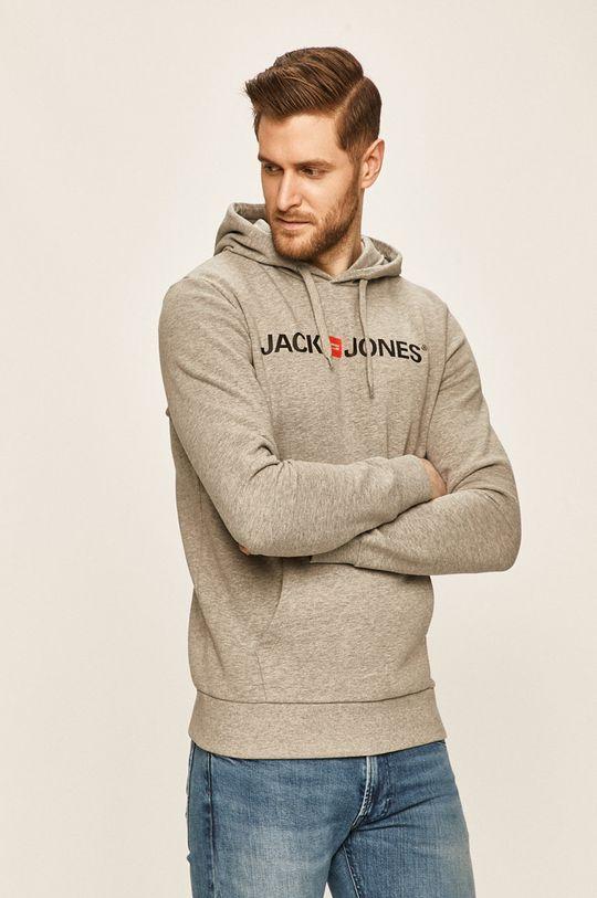 jasny szary Jack & Jones - Bluza Męski