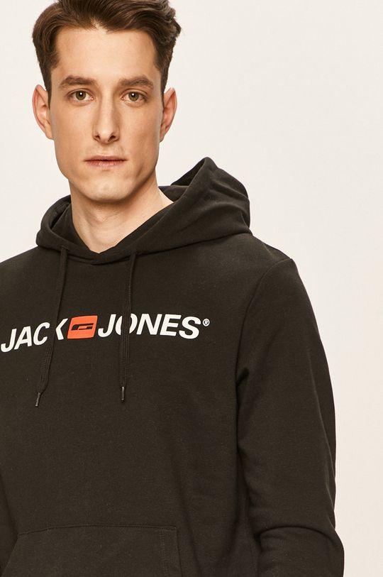 černá Jack & Jones - Mikina Pánský