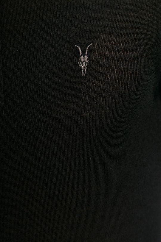 AllSaints - Bluza Mode Merino Zip Hood Męski