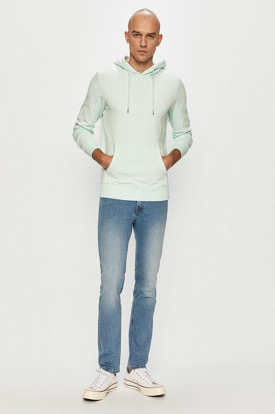 Jack & Jones - Bluza jasny turkusowy