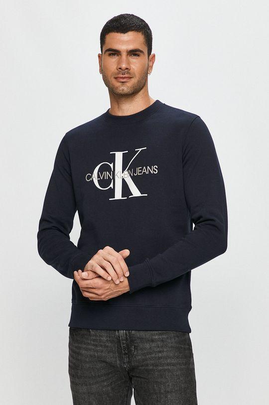 námořnická modř Calvin Klein Jeans - Mikina Pánský
