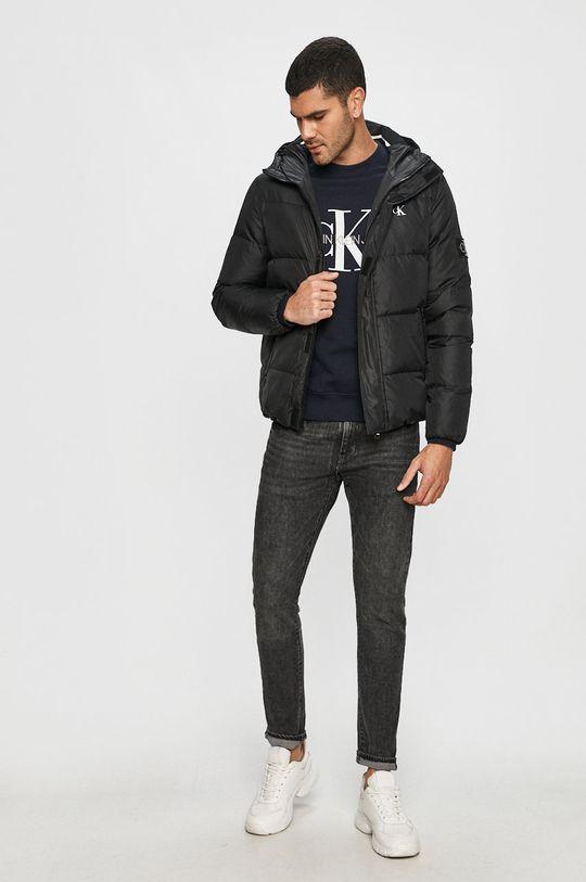 Calvin Klein Jeans - Mikina námořnická modř