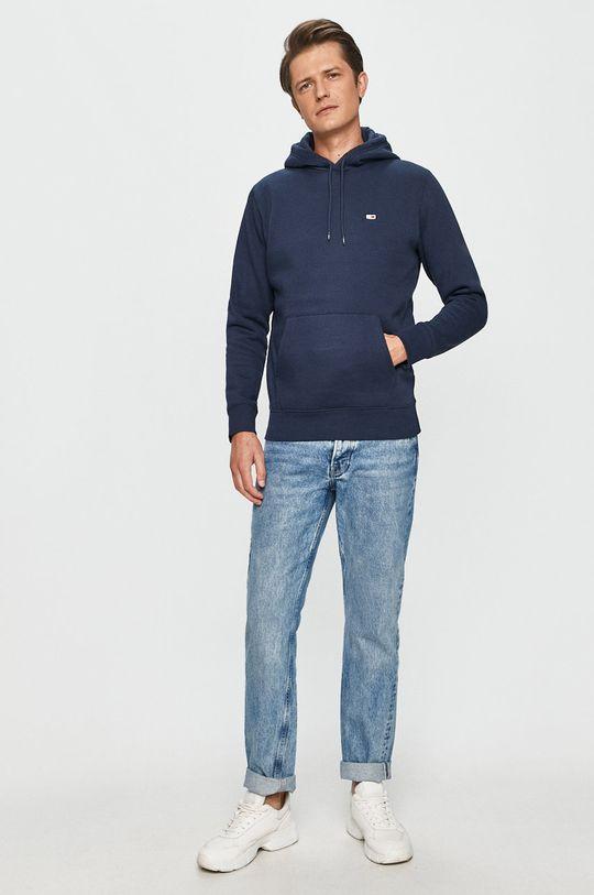 Tommy Jeans - Mikina námořnická modř