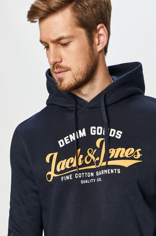 granatowy Jack & Jones - Bluza Męski