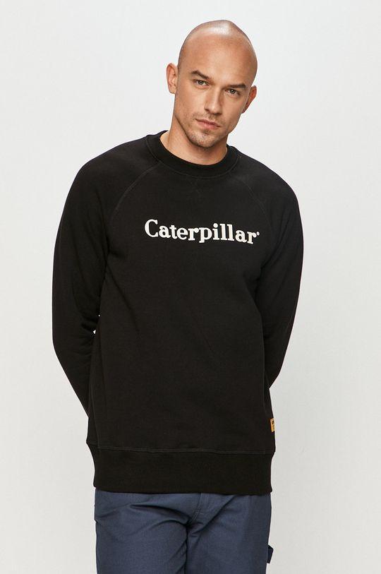 Caterpillar - Bluza bawełniana czarny