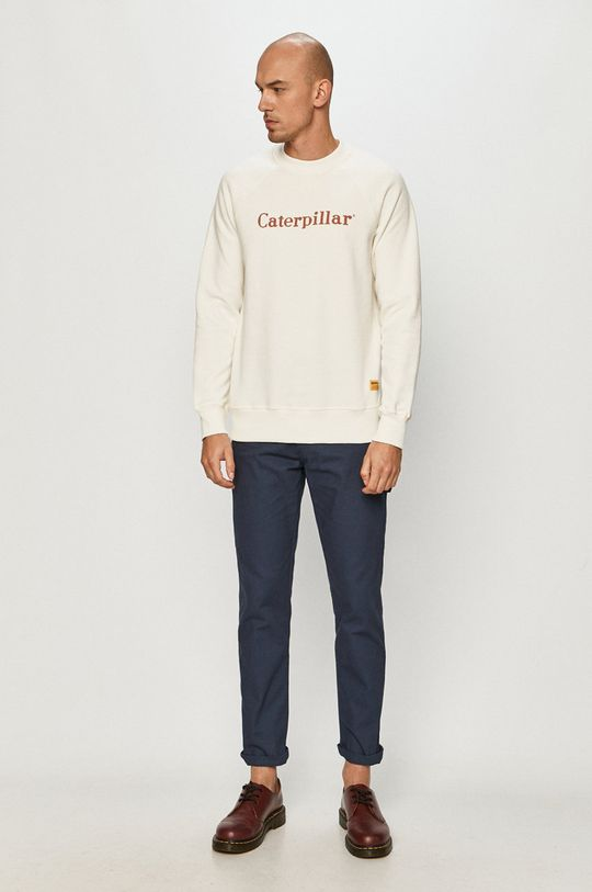Caterpillar - Bluza bawełniana biały