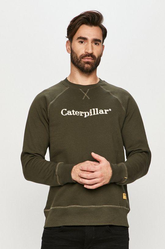 militarny Caterpillar - Bluza bawełniana Męski