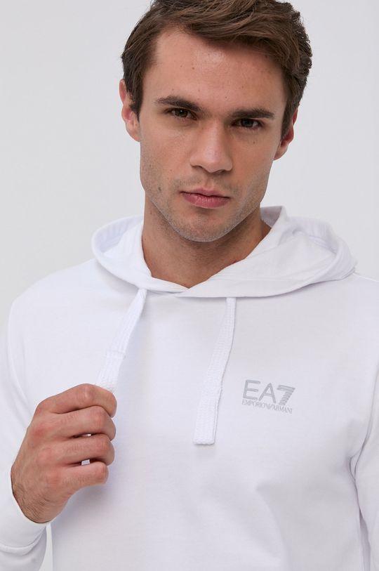 EA7 Emporio Armani - Bavlněná mikina  100% Bavlna