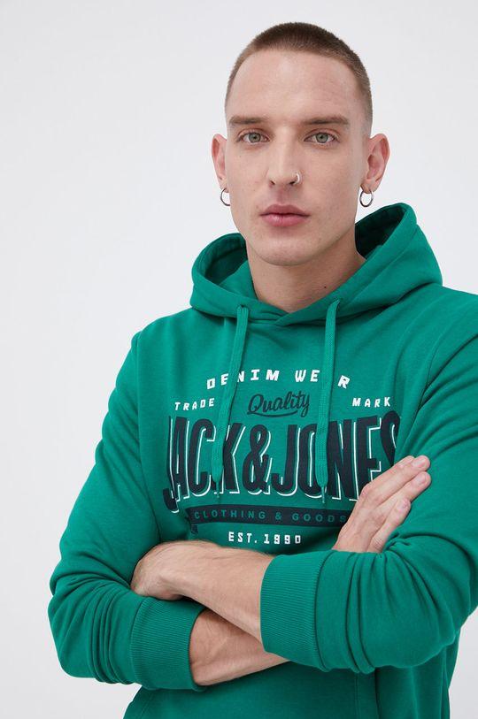 zielony Jack & Jones - Bluza