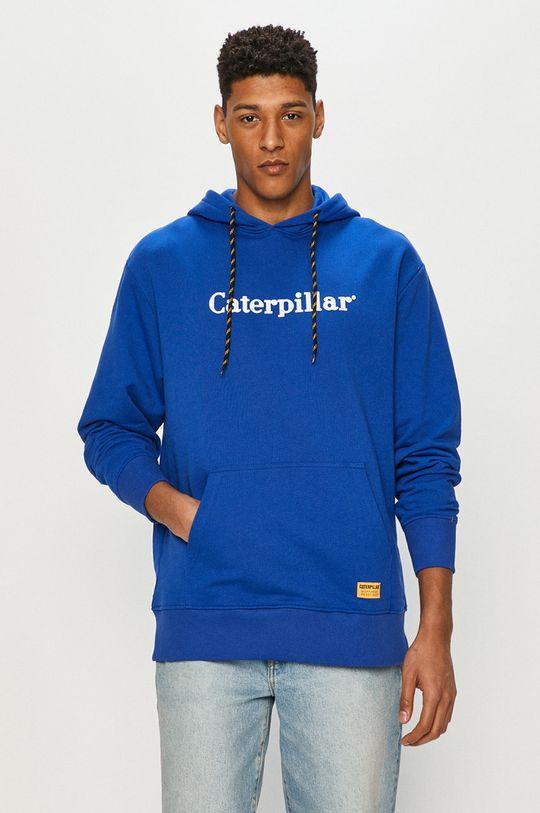 modrá Caterpillar - Mikina Pánský
