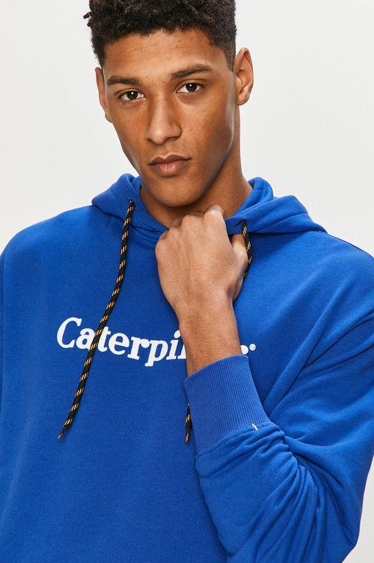 modrá Caterpillar - Mikina