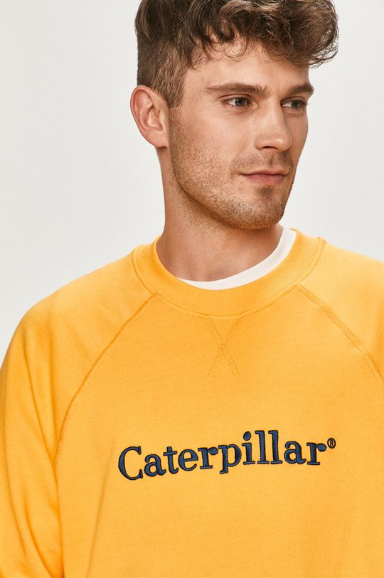 žlutá Caterpillar - Mikina