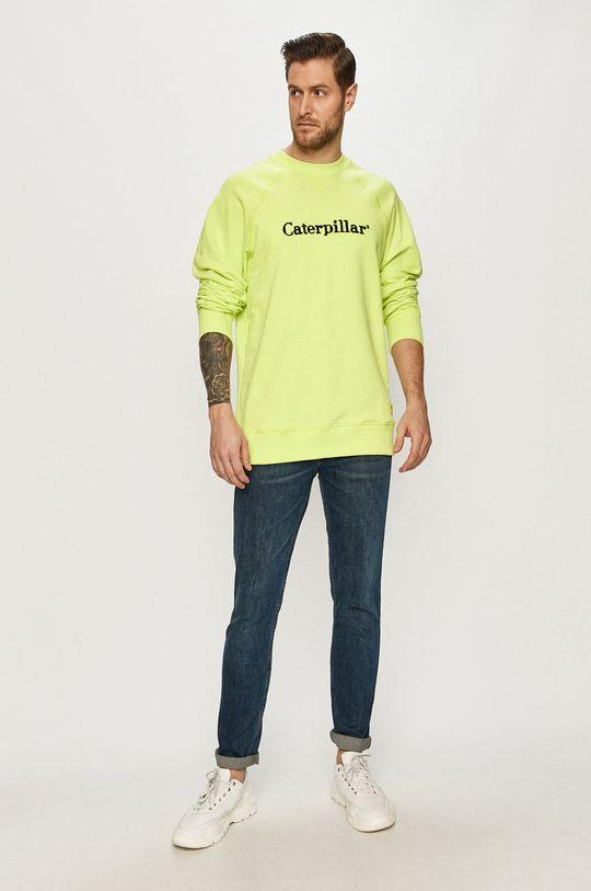 Caterpillar - Bluza żółto - zielony
