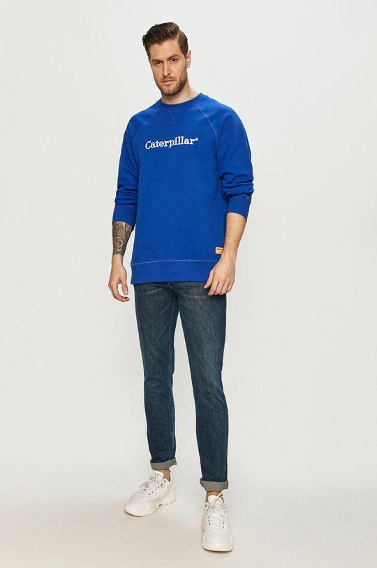 Caterpillar - Bluza niebieski
