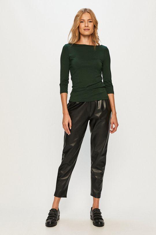 Vero Moda - Longsleeve stalowy zielony