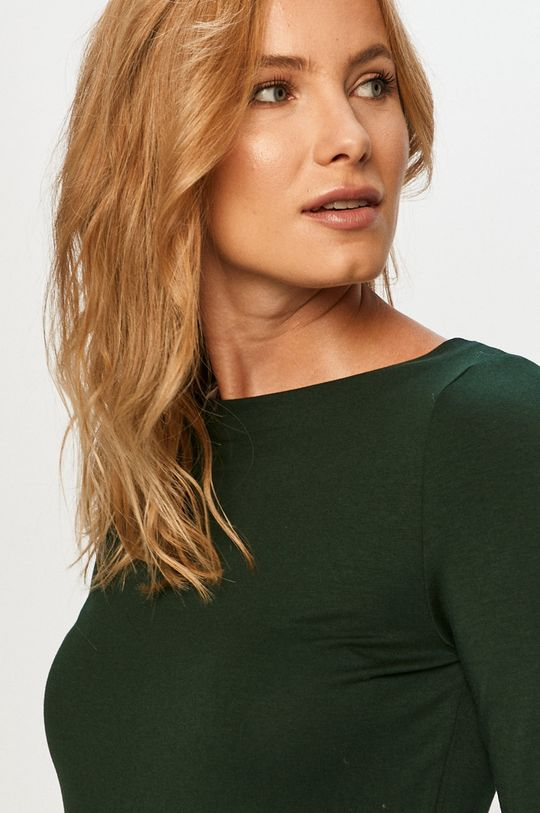 stalowy zielony Vero Moda - Longsleeve