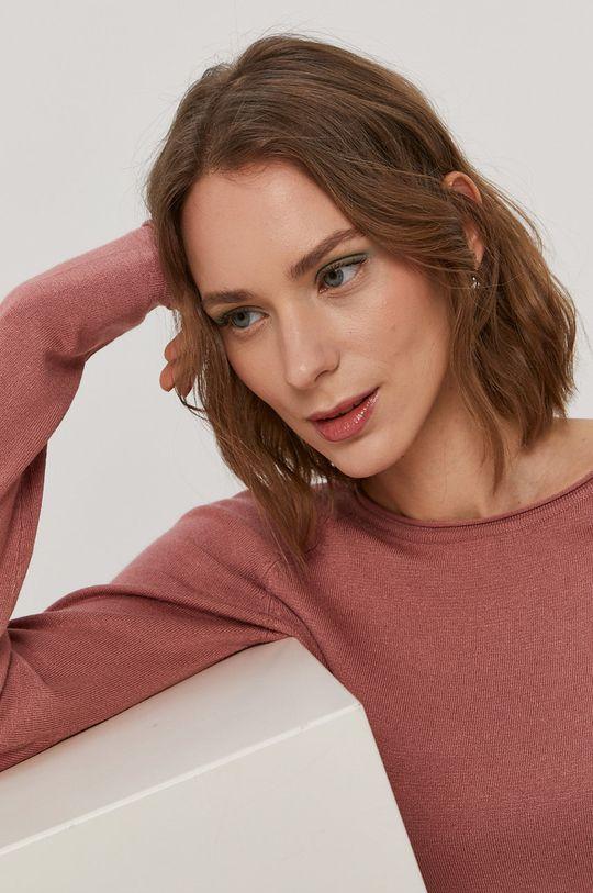 ružovo-červená Vero Moda - Sveter