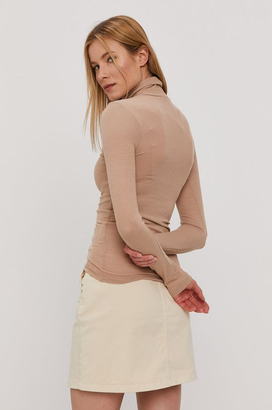 Pieces - Tričko s dlouhým rukávem  5% Elastan, 33% Viskóza, 62% Recyklovaný polyester