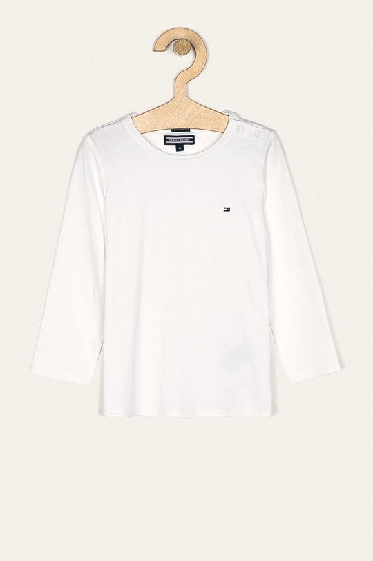 bílá Tommy Hilfiger - Dětské tričko s dlouhým rukávem 74-176 cm Dívčí