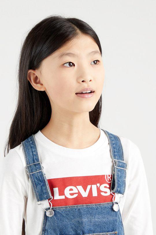 Levi's - Dětské tričko s dlouhým rukávem bílá