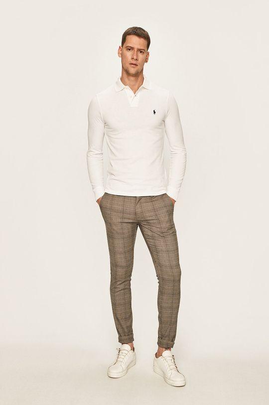Polo Ralph Lauren - Tričko s dlouhým rukávem bílá