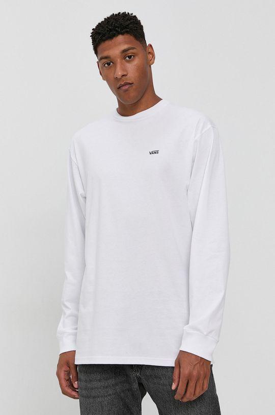 Vans - Longsleeve biały